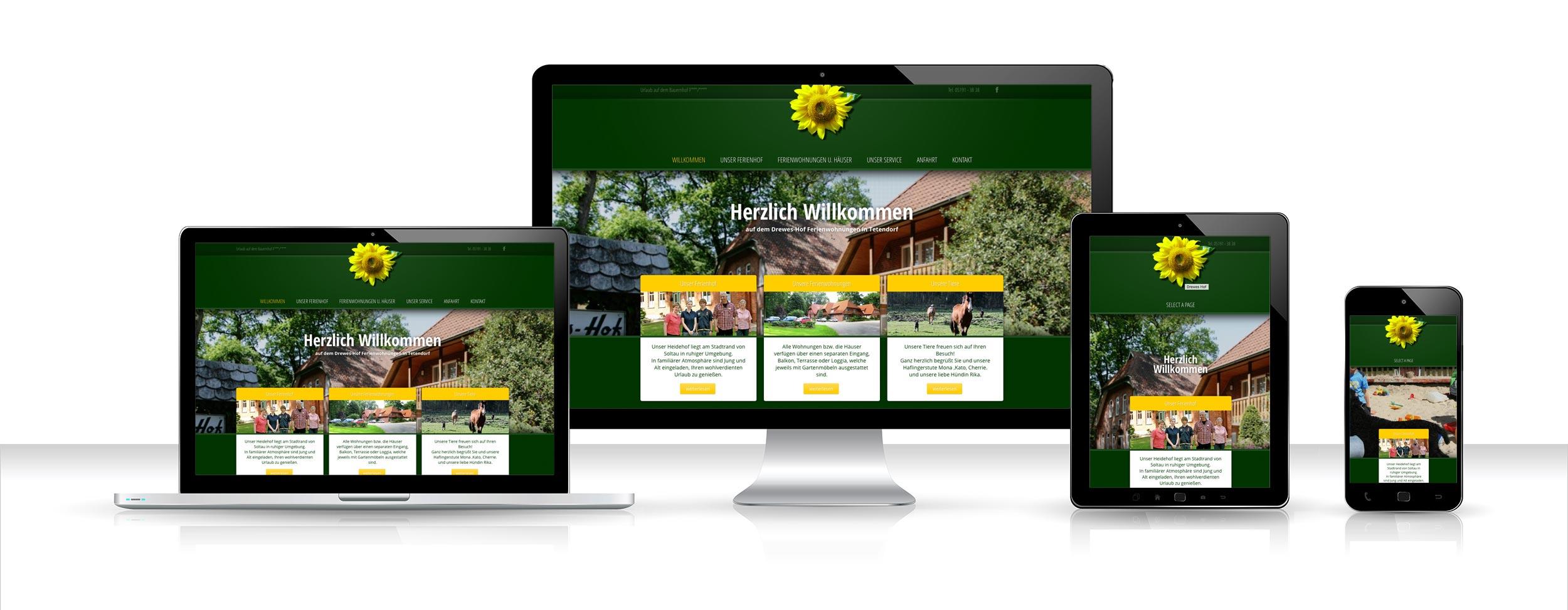 drewes hof webdesign